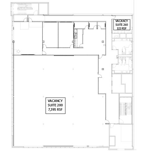 Second Floor Floor Plan Only